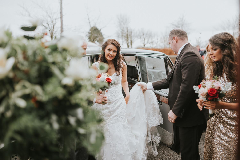 Malone Lodge Belfast Wedding 33