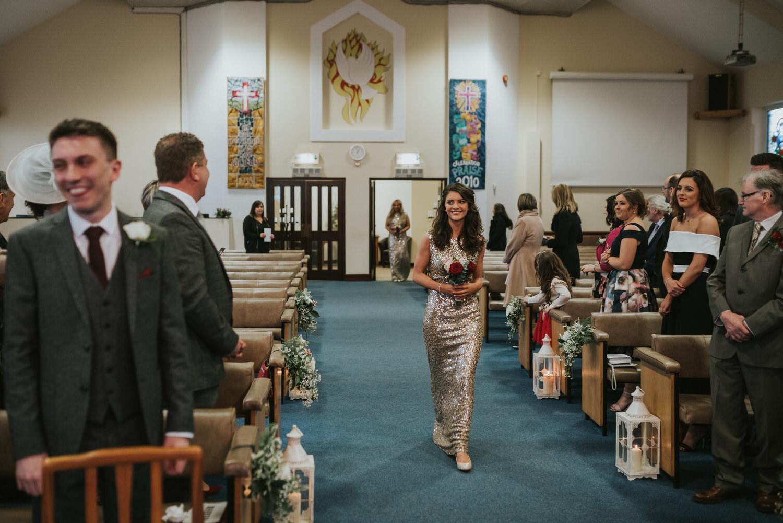 Malone Lodge Belfast Wedding 34
