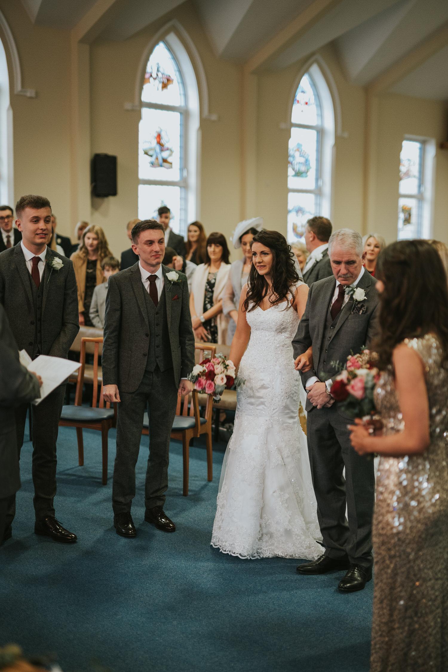 Malone Lodge Belfast Wedding 37