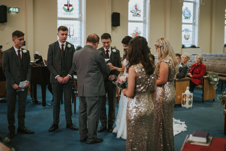 Malone Lodge Belfast Wedding 44