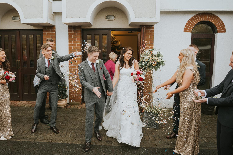 Malone Lodge Belfast Wedding 55