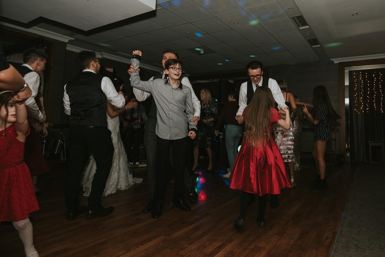 Malone Lodge Belfast Wedding 95