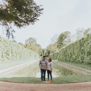 Antrim Castle Gardens Engagement Session