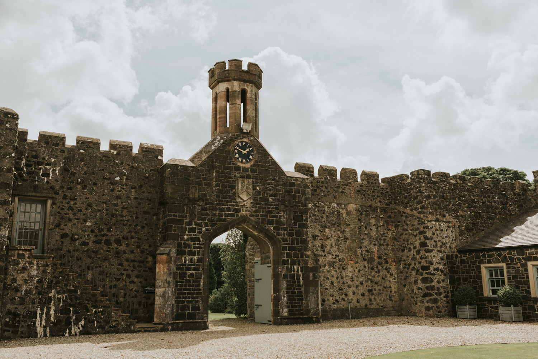 Lissanoure Castle Wedding 27
