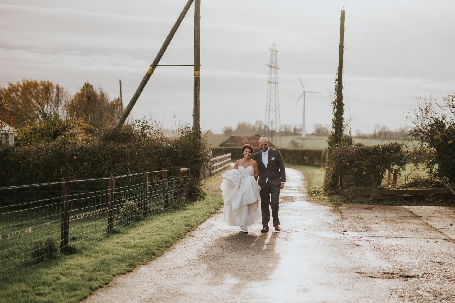wedding photos at the Tullyglass Hotel 38