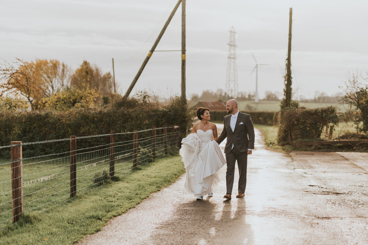 wedding photos at the Tullyglass Hotel 39