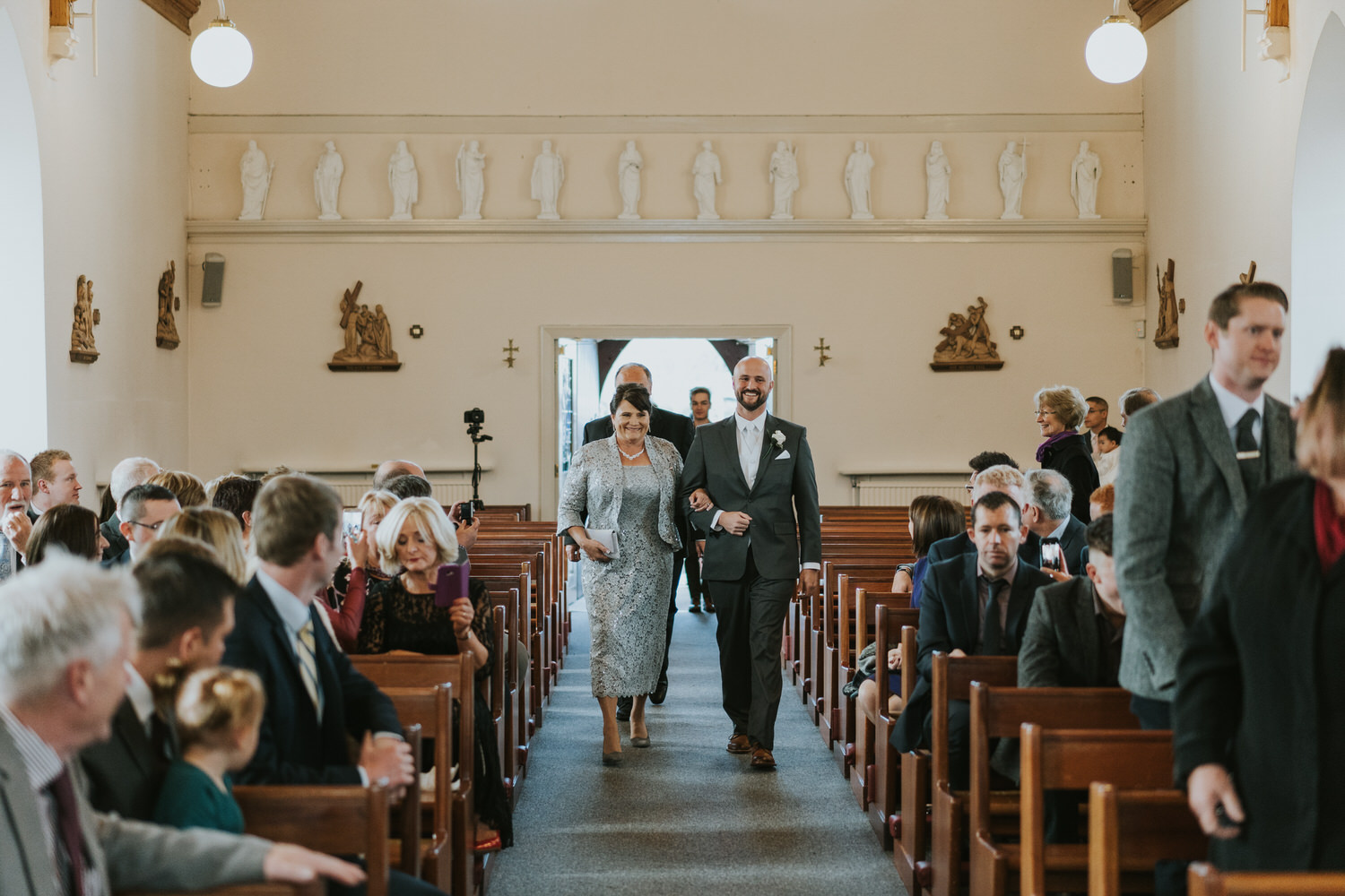 wedding photos at the Tullyglass Hotel 54