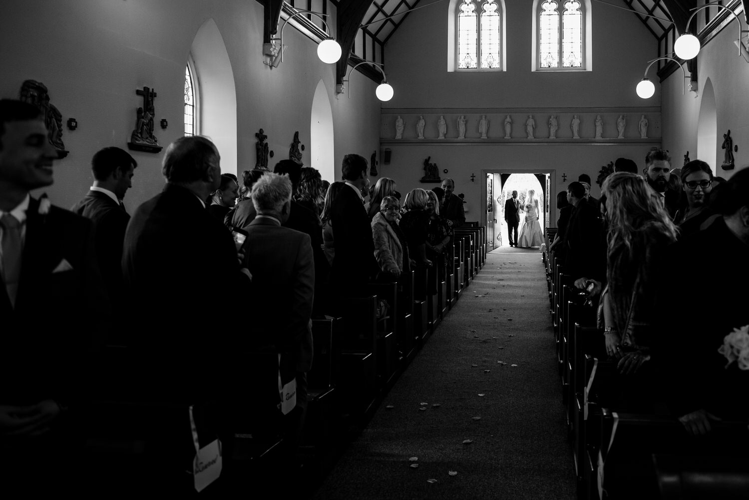 wedding photos at the Tullyglass Hotel 64