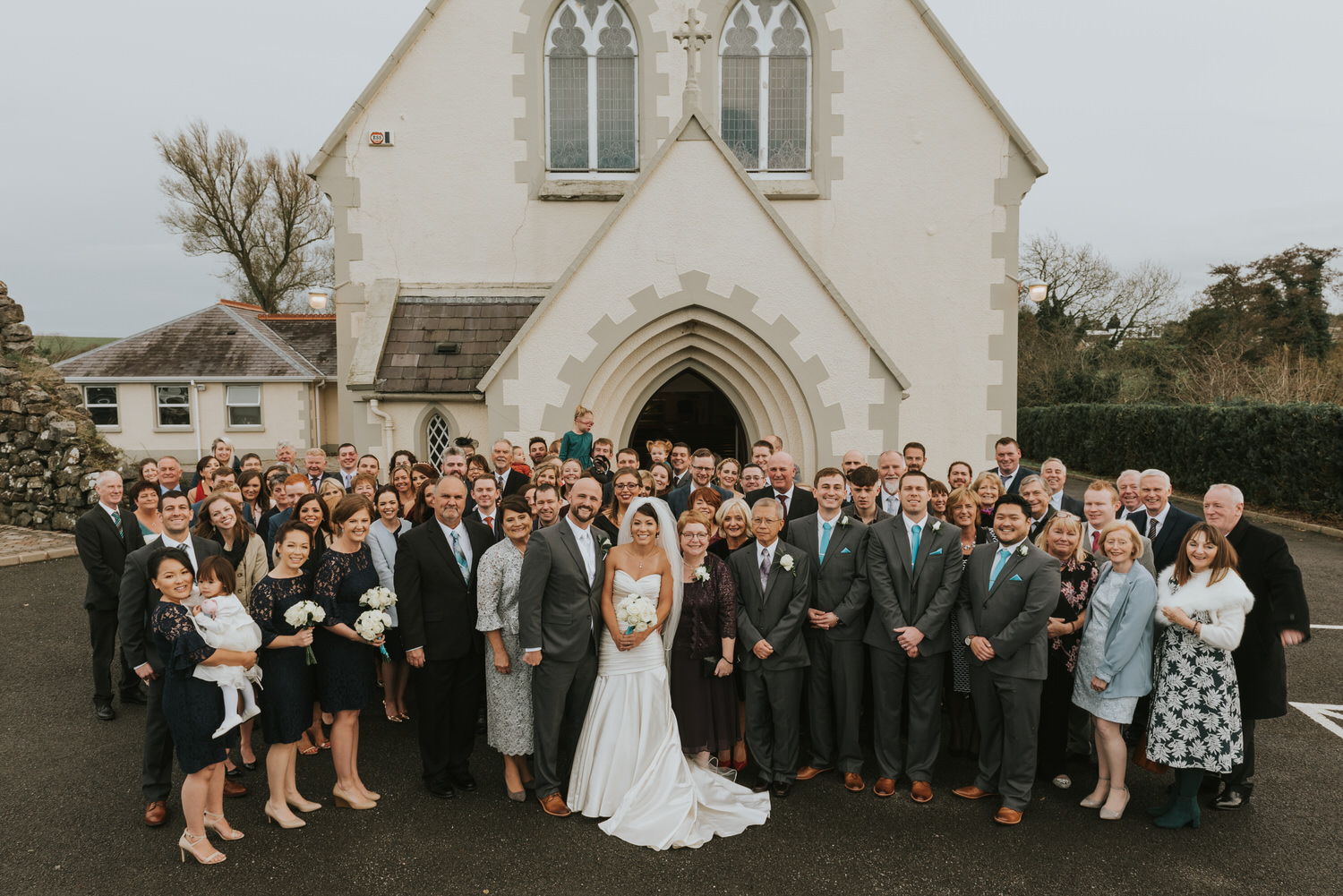wedding photos at the Tullyglass Hotel 91