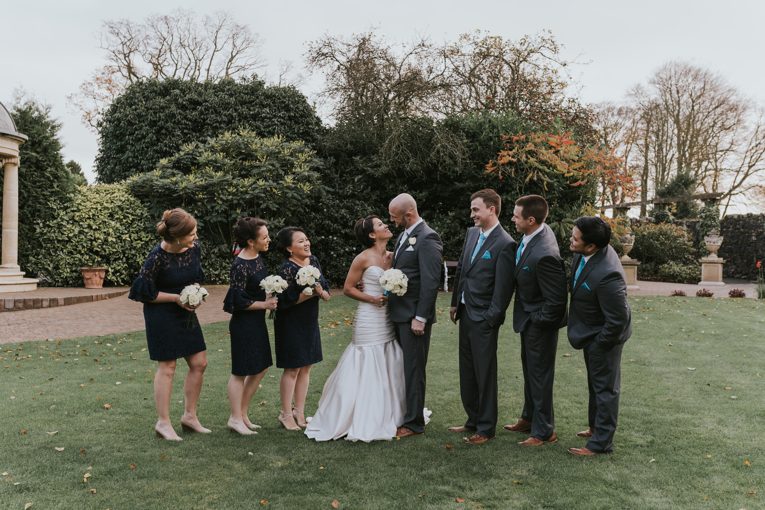 wedding photos at the Tullyglass Hotel 125