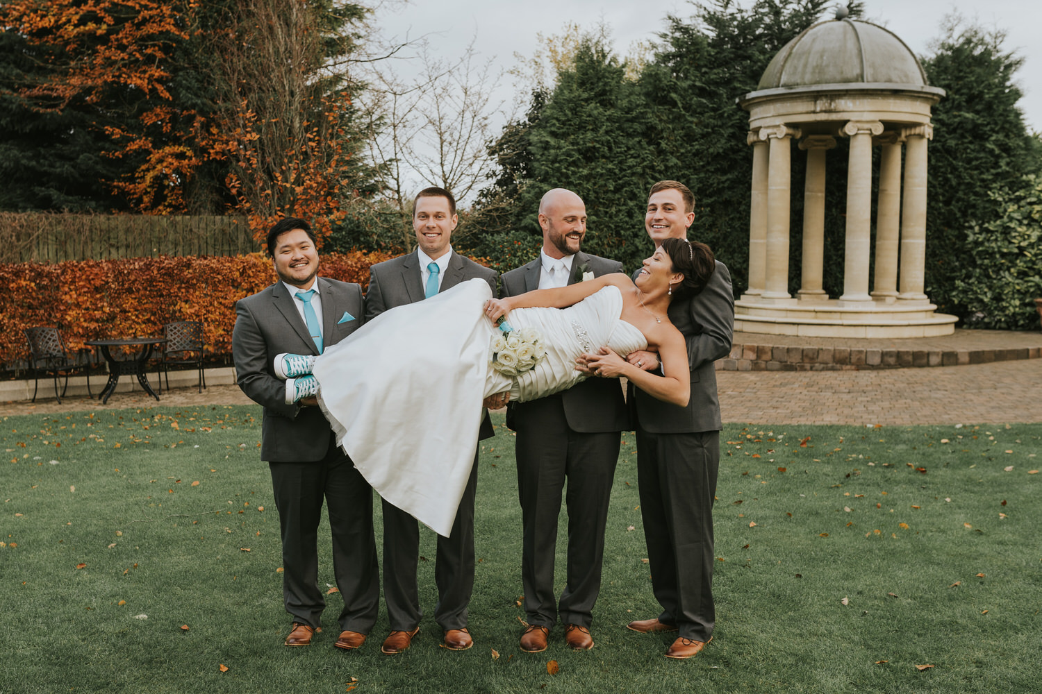 wedding photos at the Tullyglass Hotel 127