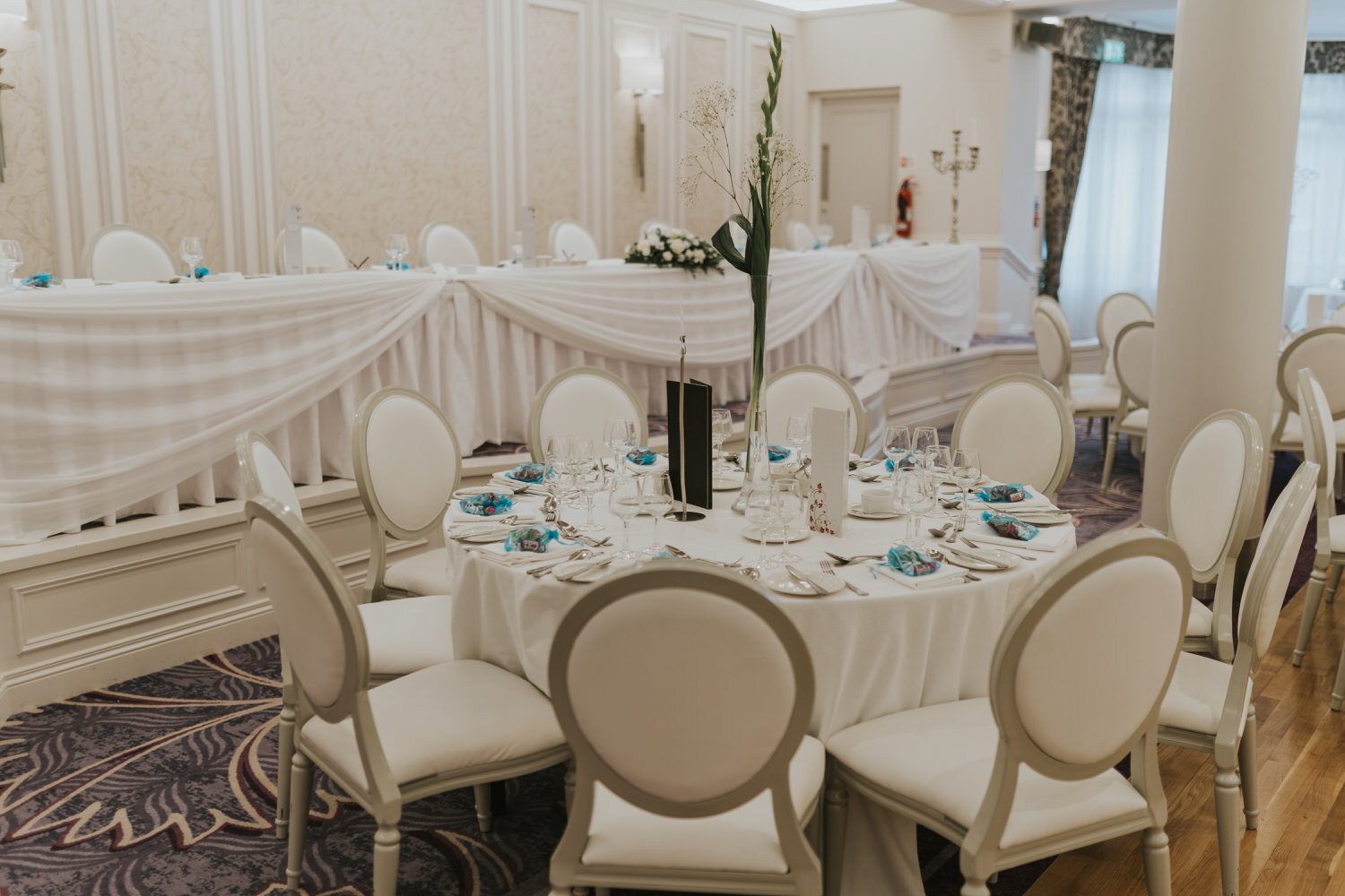 wedding photos at the Tullyglass Hotel 137