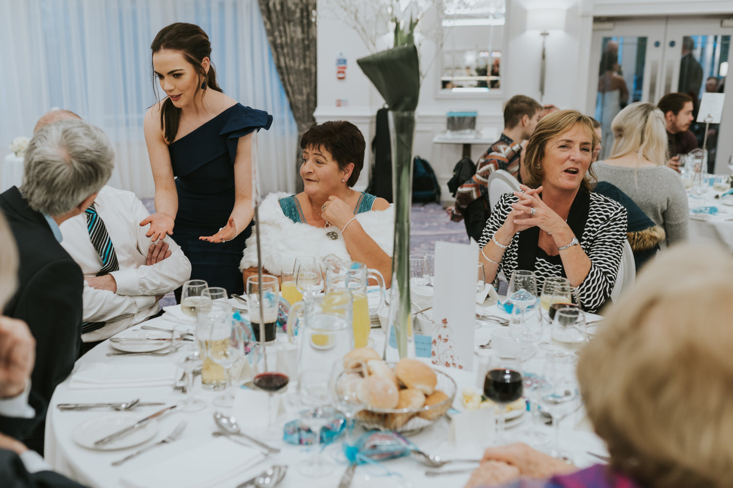 wedding photos at the Tullyglass Hotel 144
