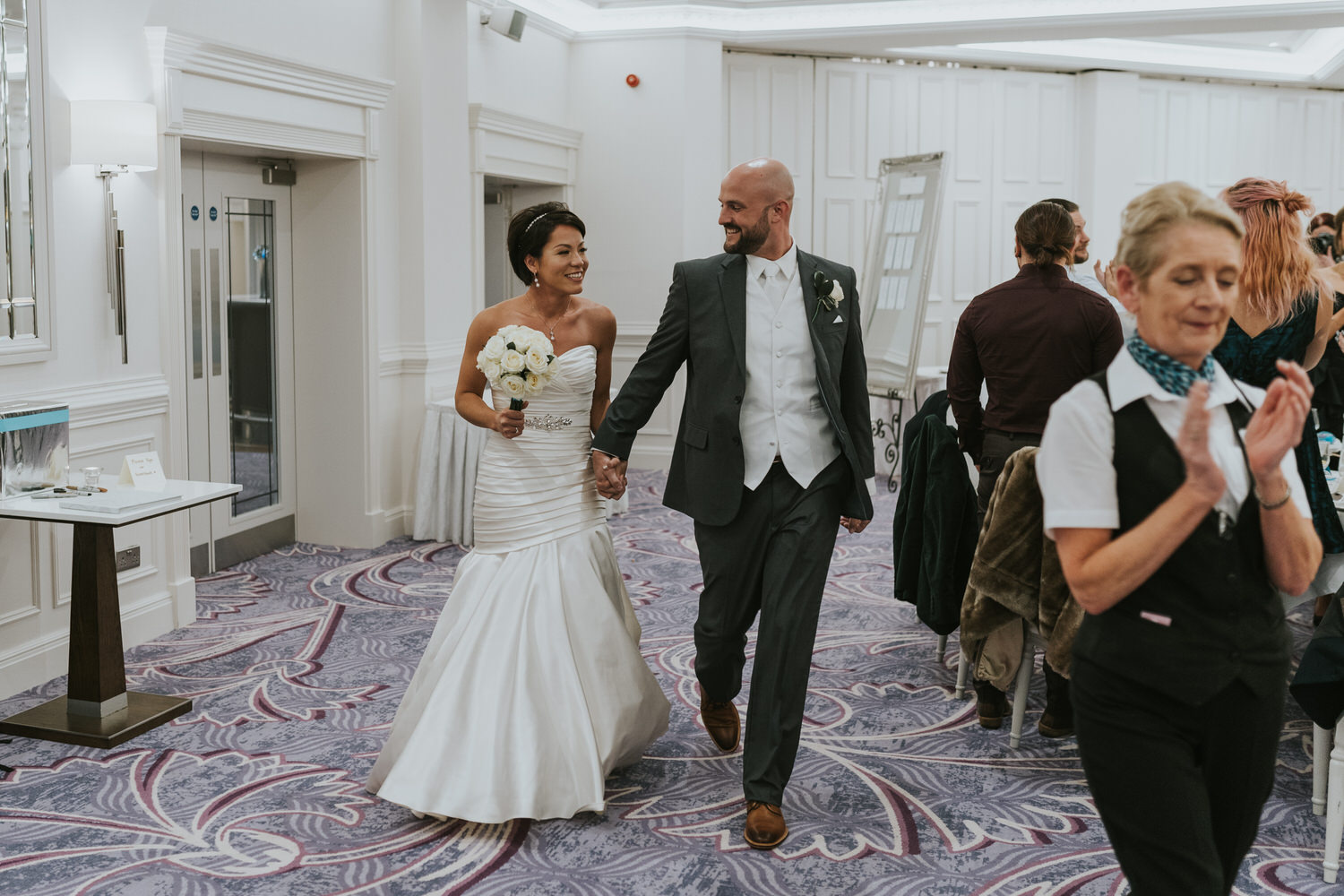 wedding photos at the Tullyglass Hotel 146