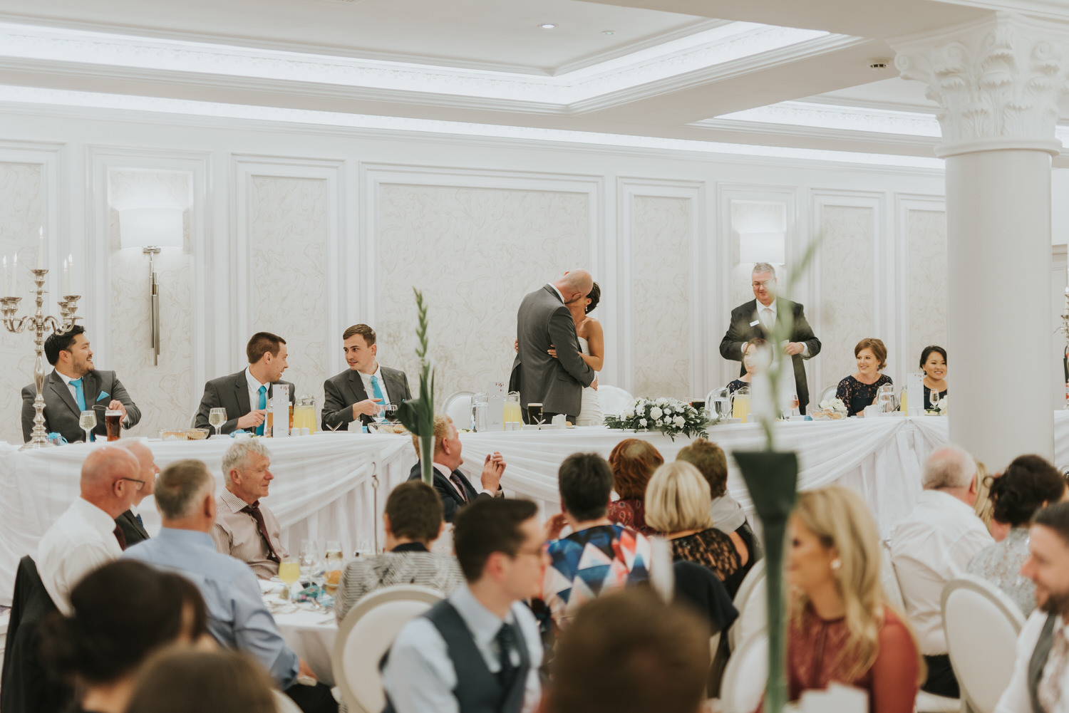 wedding photos at the Tullyglass Hotel 148