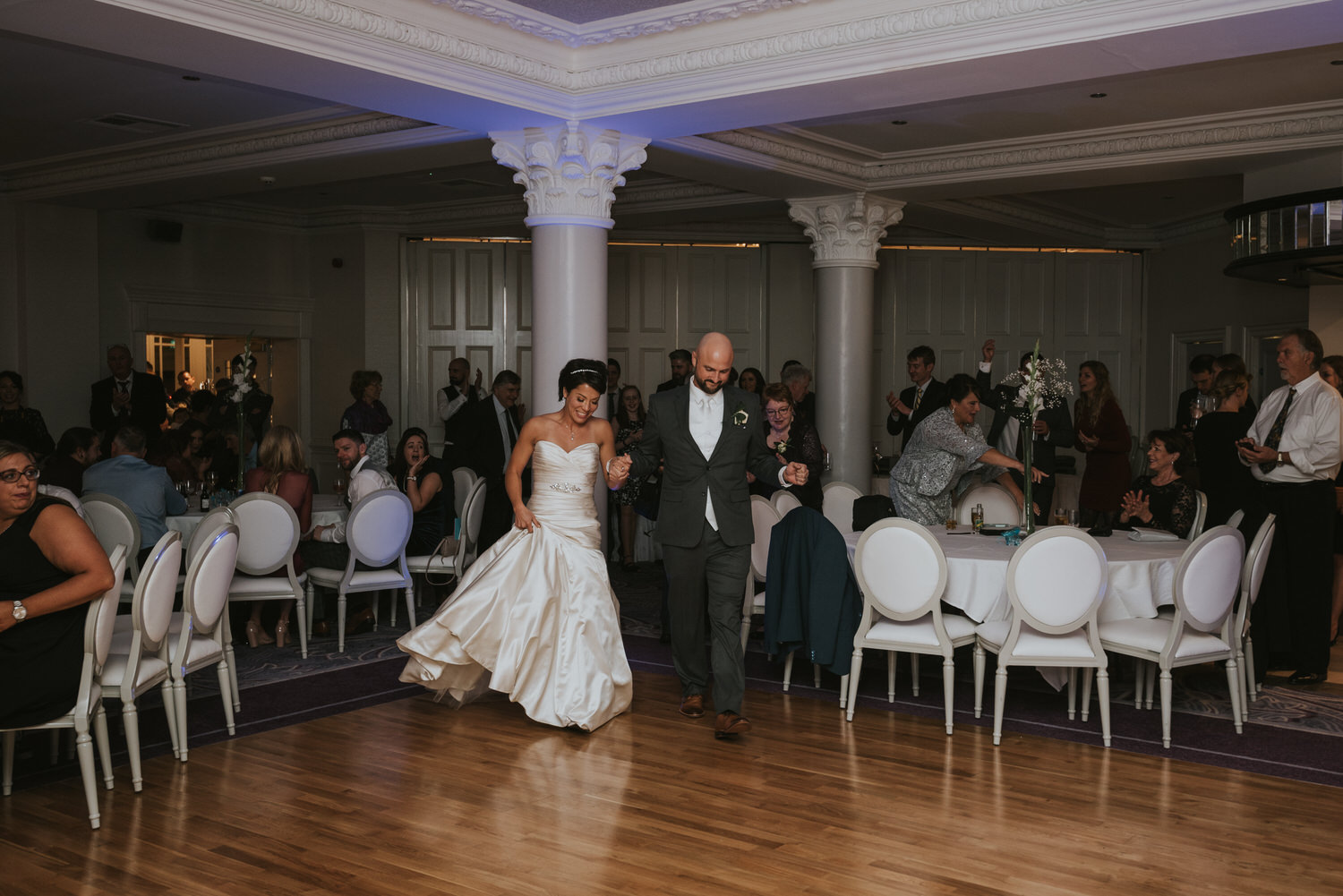 wedding photos at the Tullyglass Hotel 162