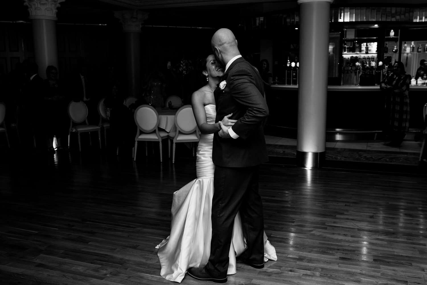 wedding photos at the Tullyglass Hotel 163