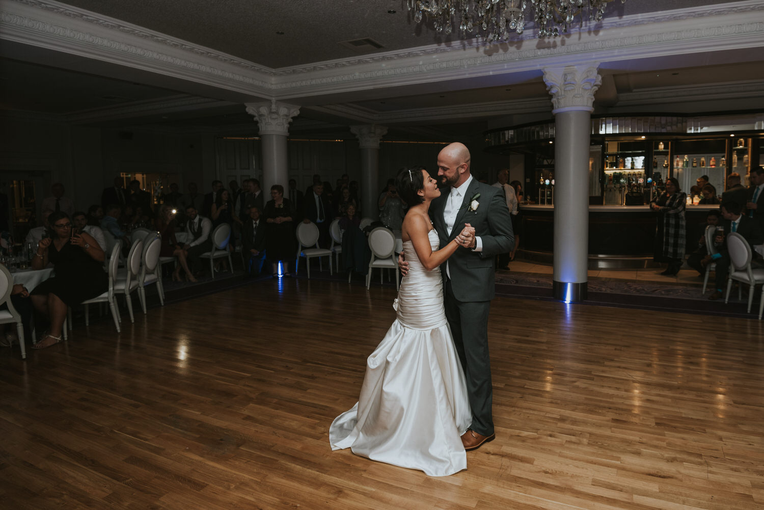 wedding photos at the Tullyglass Hotel 164