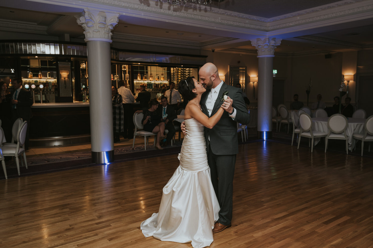 wedding photos at the Tullyglass Hotel 165