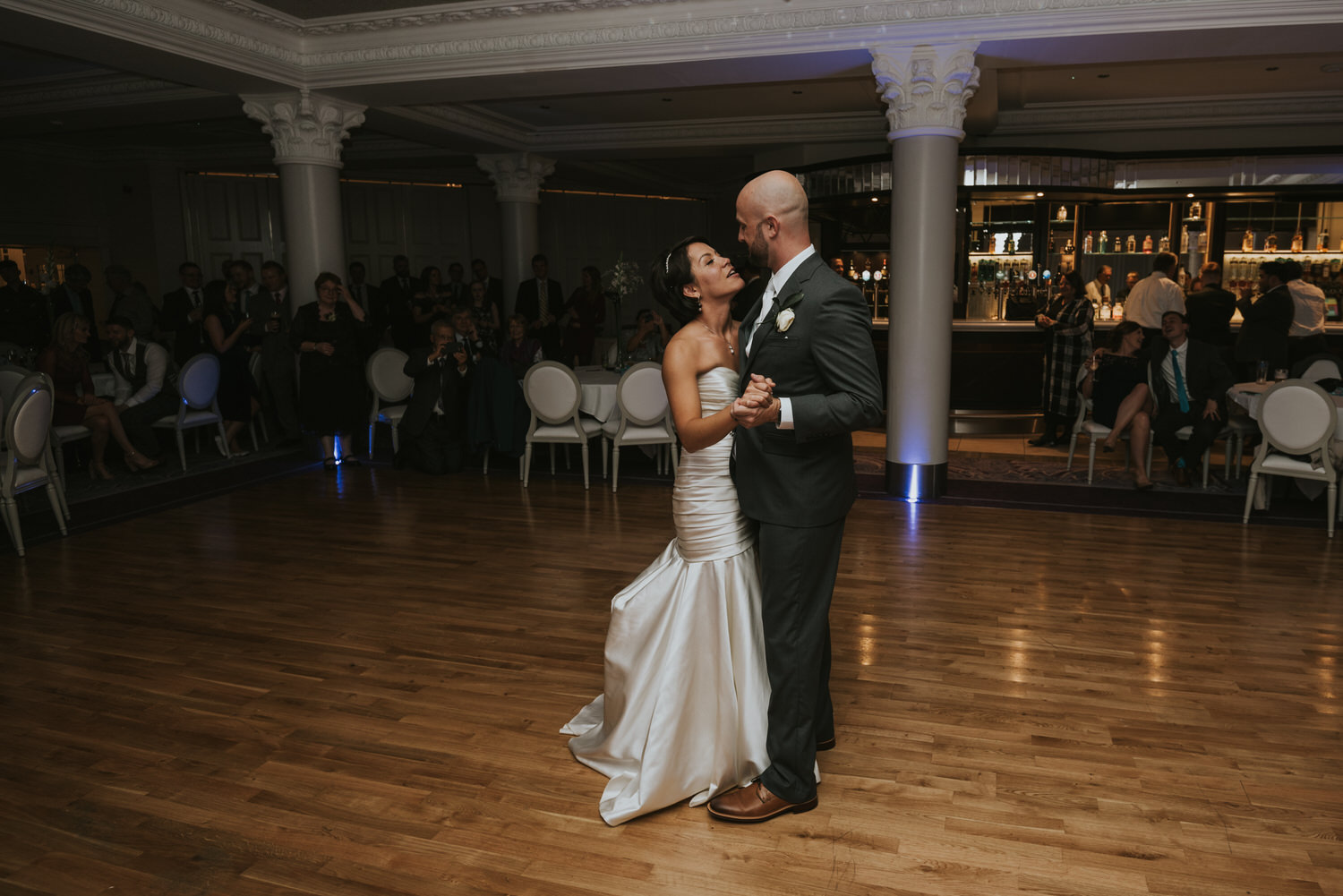 wedding photos at the Tullyglass Hotel 169