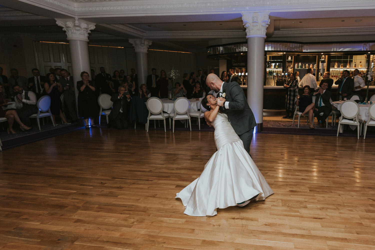 wedding photos at the Tullyglass Hotel 170