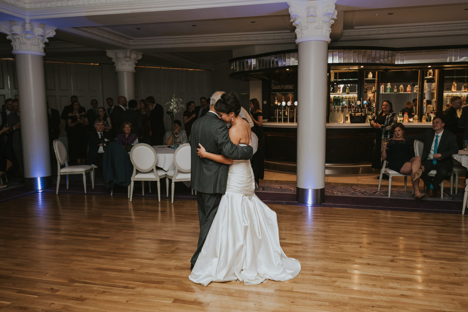 wedding photos at the Tullyglass Hotel 171