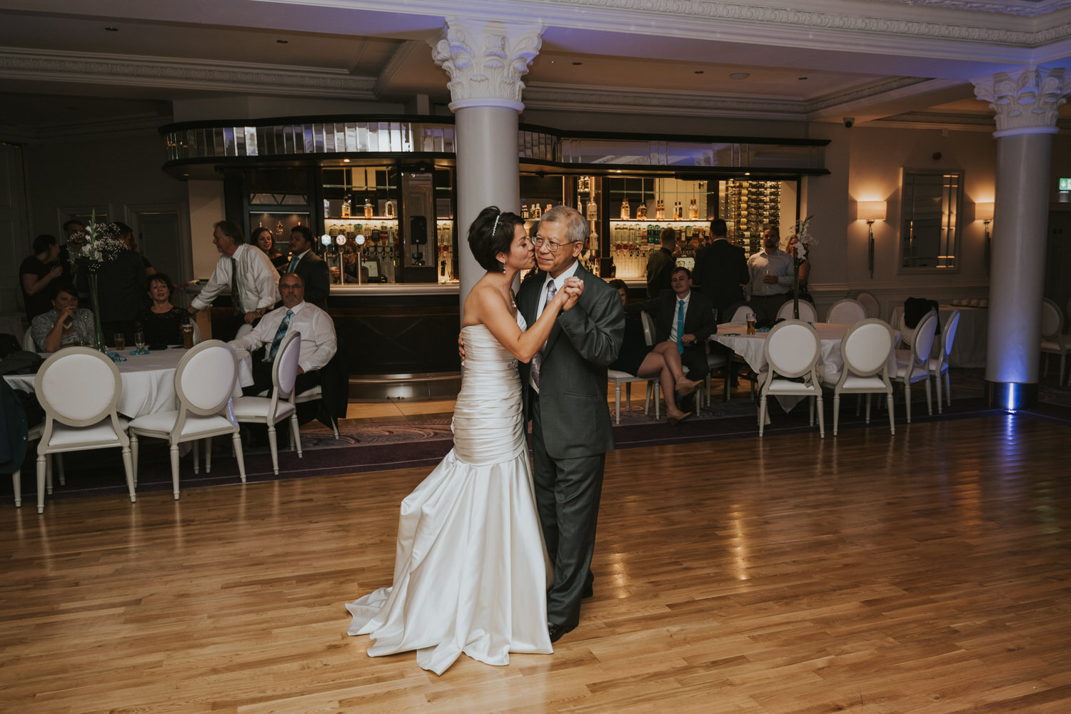 wedding photos at the Tullyglass Hotel 172
