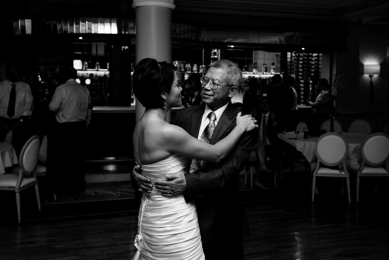 wedding photos at the Tullyglass Hotel 173