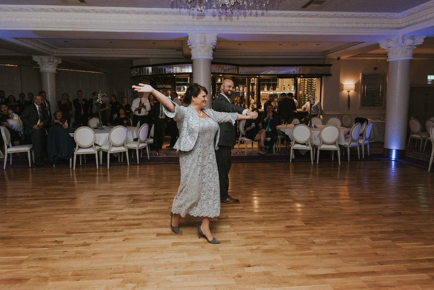 wedding photos at the Tullyglass Hotel 174