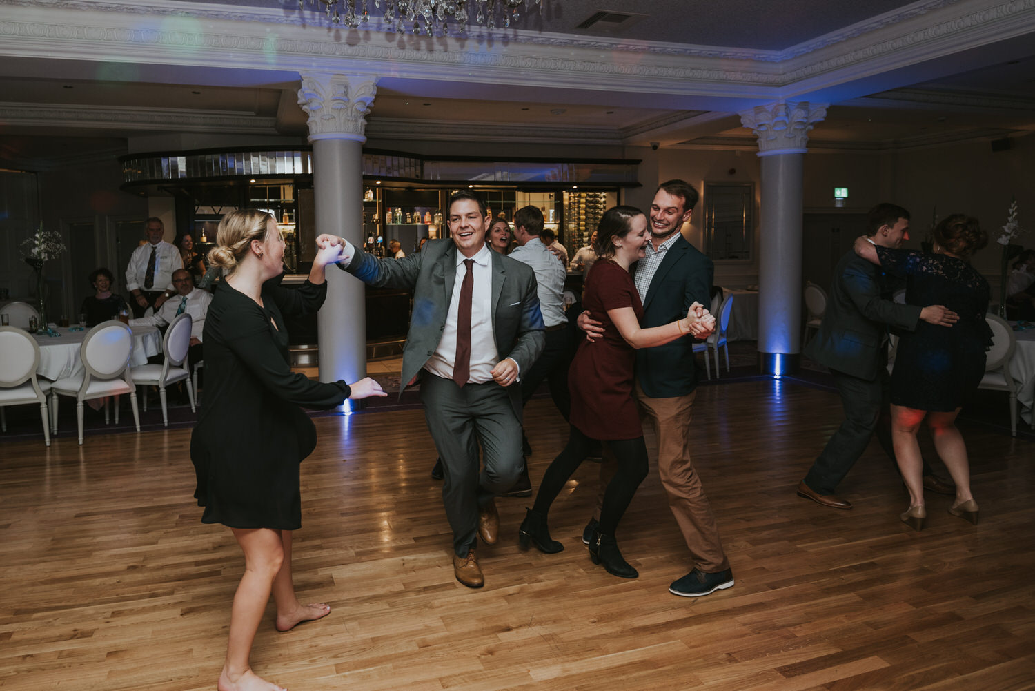 wedding photos at the Tullyglass Hotel 179