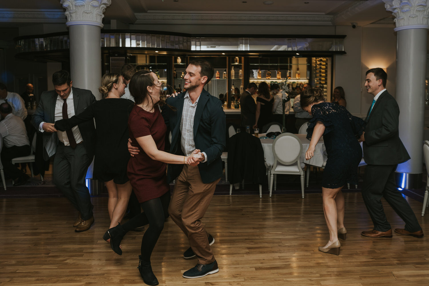 wedding photos at the Tullyglass Hotel 178