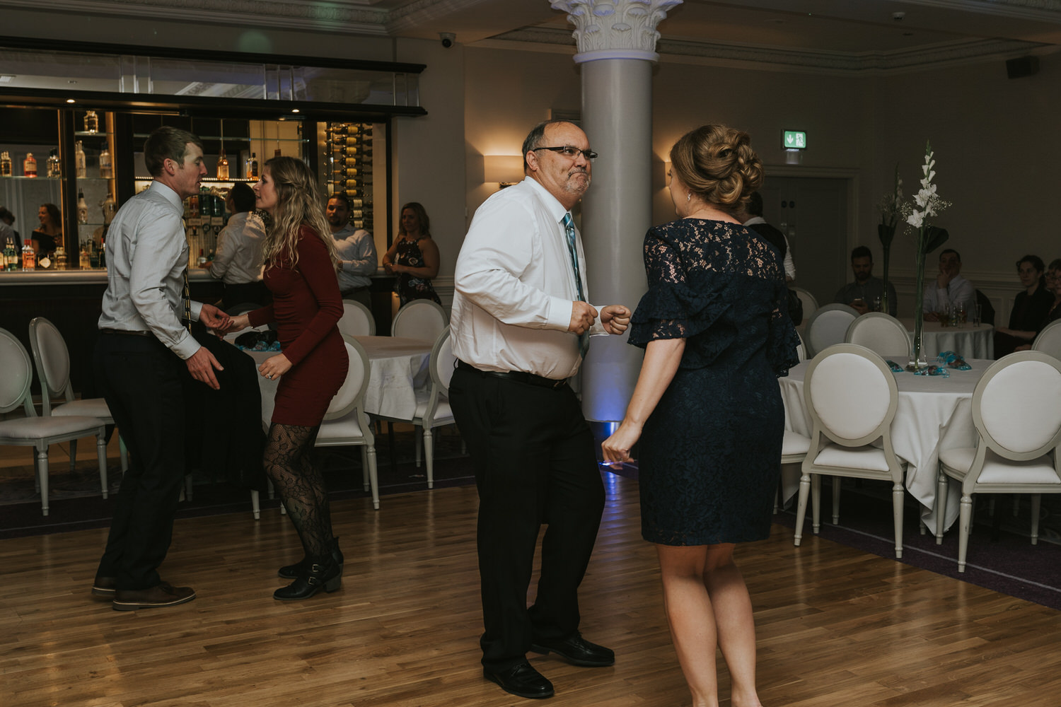 wedding photos at the Tullyglass Hotel 180