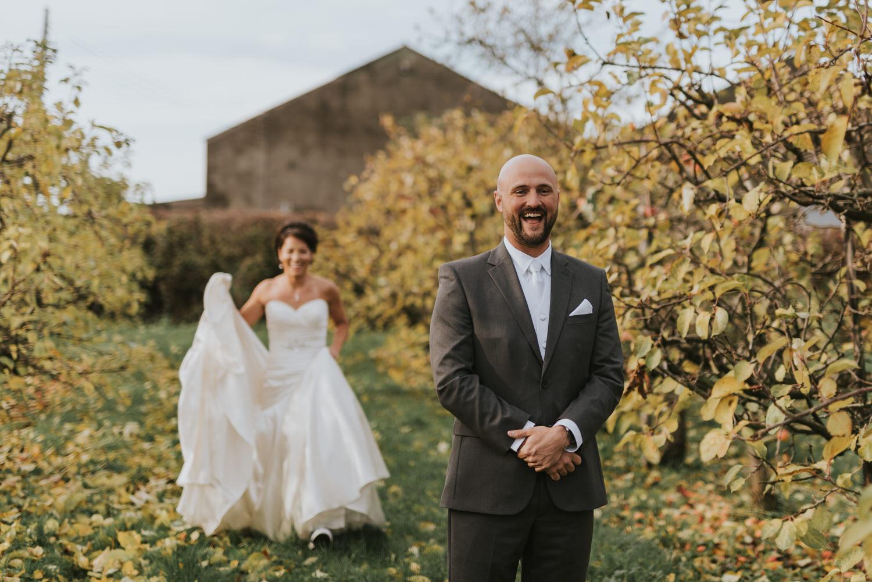 First Look Northern Ireland Wedding Photographer 03