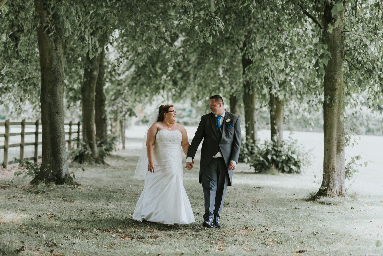 Seagoe Hotel wedding bride and groom portraits