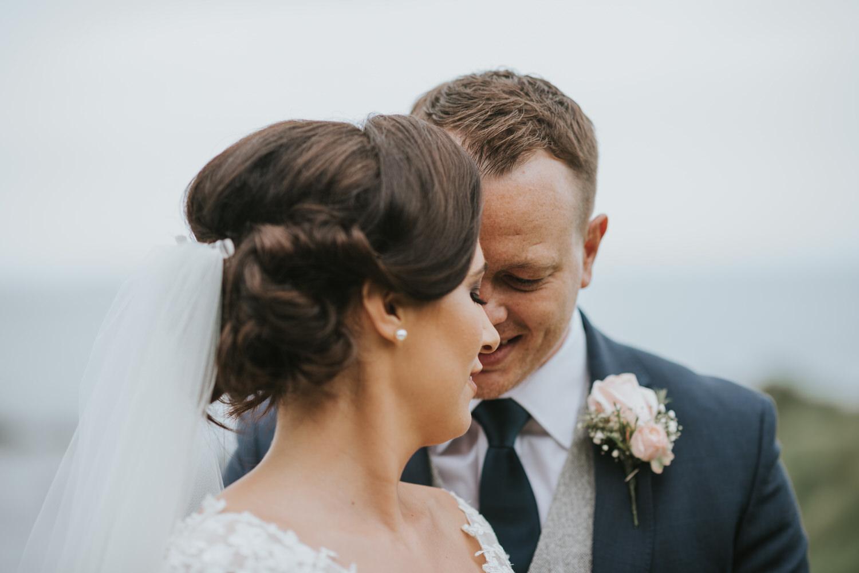 The Old Inn wedding bride and groom portraits