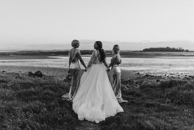 Orange Tree House wedding bridesmaids
