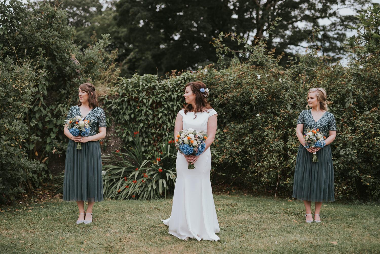 Lissanoure Castle wedding wedding bridesmaids