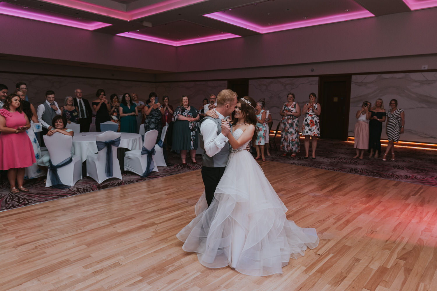 Stormont Hotel Wedding the first dance