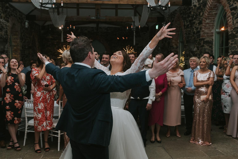 Orange Tree House Wedding the first dance