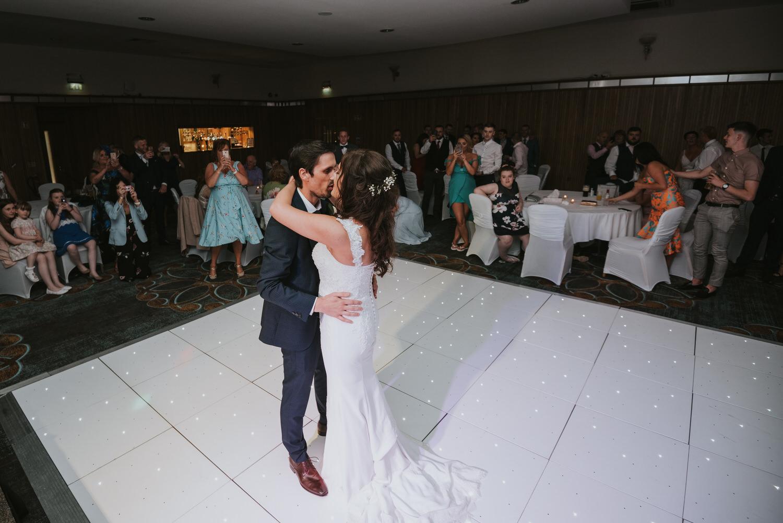 La Mon Hotel Wedding the first dance