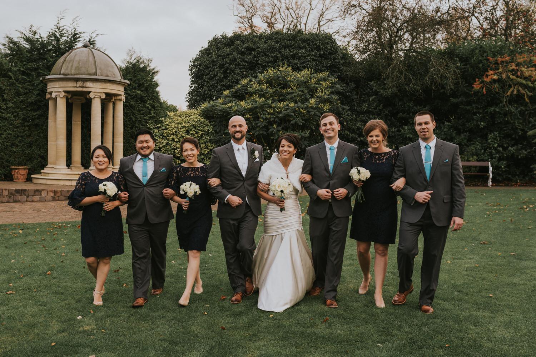 Tullyglass Hotel Wedding bridal party