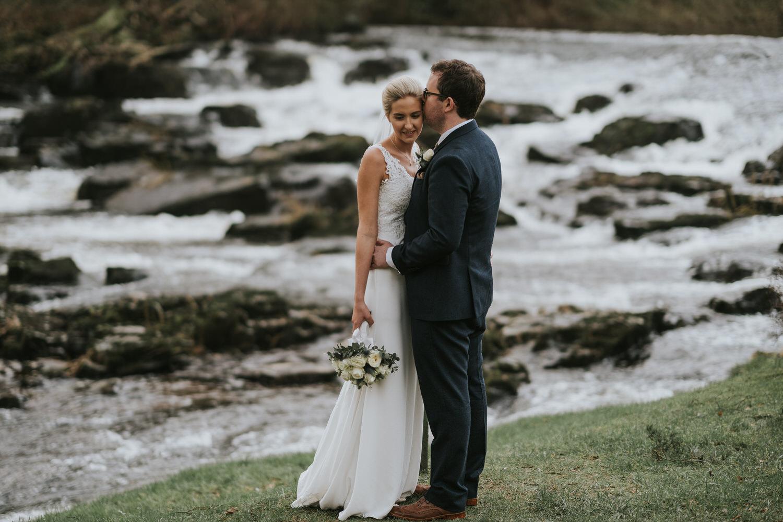 Galgorm Wedding Bride and Groom Portrait