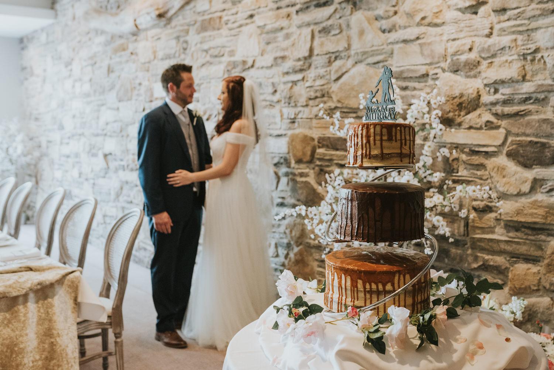 Clandeboye Lodge Wedding cake