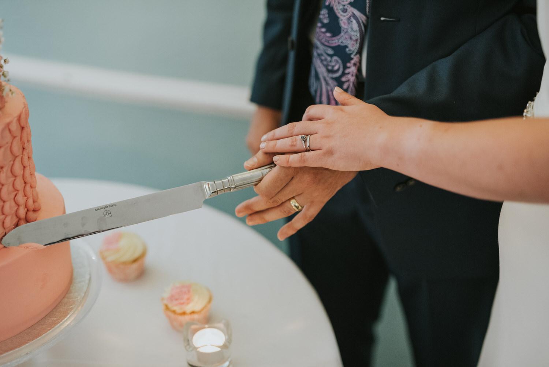 Lissanoure Castle Wedding cake