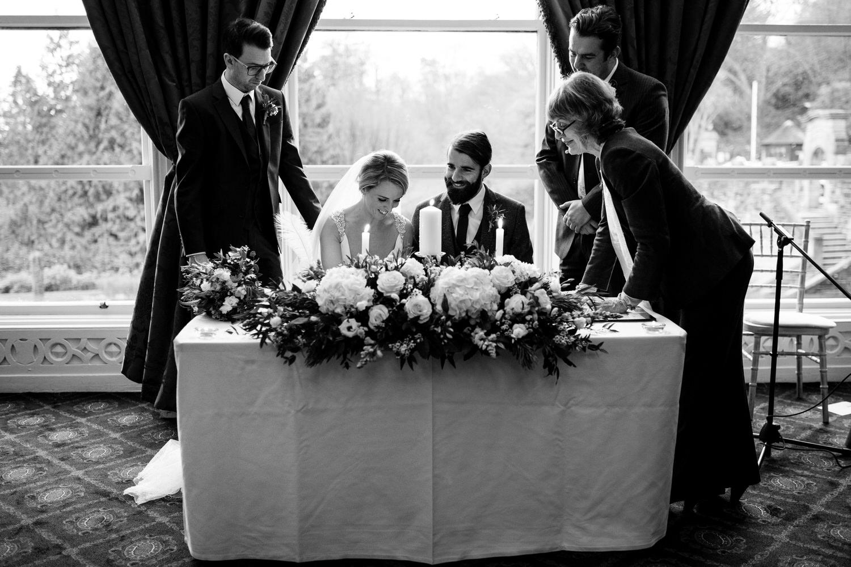 Wedding photos at Belfast Castle 85