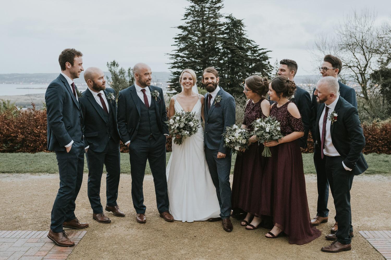 Wedding photos at Belfast Castle 89