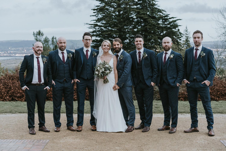 Wedding photos at Belfast Castle 93