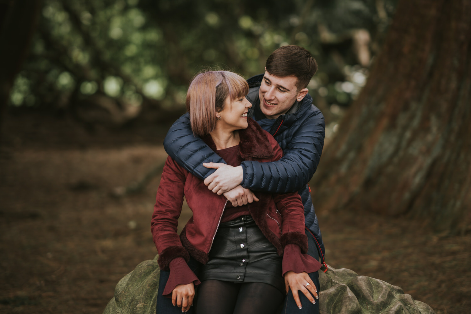 Belfast Engagement Photos at Lady Dixons 12
