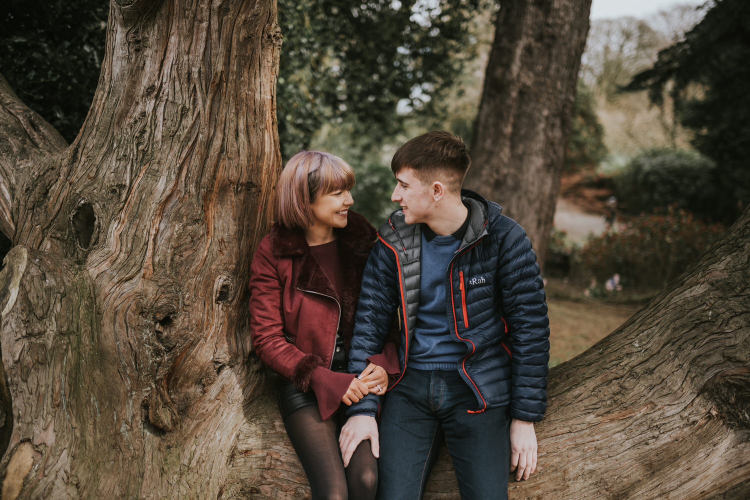 Belfast Engagement Photos at Lady Dixons 15