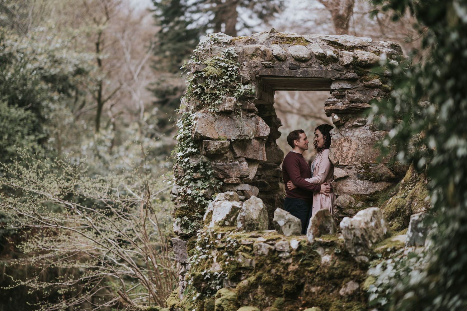 Tollymore Forest Park Engagement photos 07